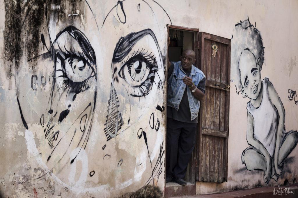 mur graffiti havane