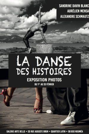 affiche exposition photos danse des histoires