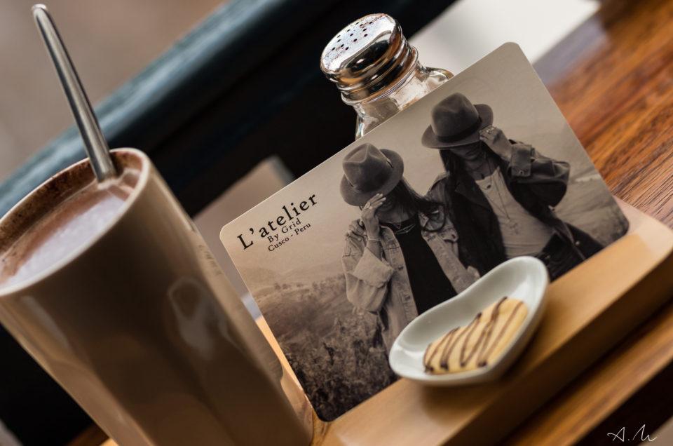 L'ATELIER, UN CAFE CONCEPT A CUSCO
