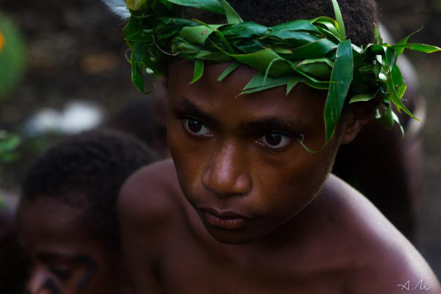 jeune danseur île ambrym vanuatu
