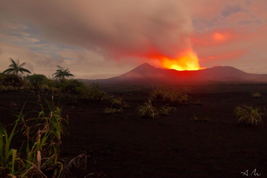 volcan caldera ambrym vanuatu